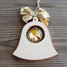 Unique Luxury Gifts from our Golden Edition. Hand gilded and decorated with cut . by Wood Art Gifts For Women, Gifts For Her, Unique Gifts, Handmade Gifts, Luxury Gifts, Clear Crystal, Decorative Bells, Wood Art, Gift Wrapping
