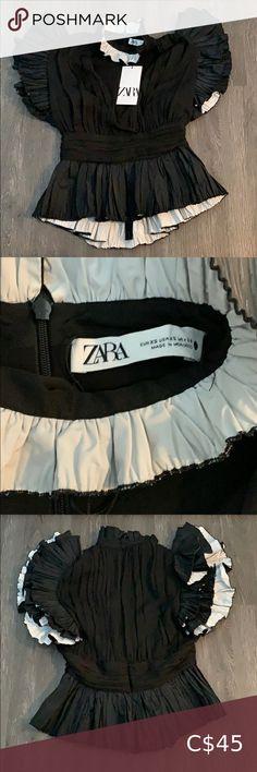 I just added this listing on Poshmark: NWT Zara Top. #shopmycloset #poshmark #fashion #shopping #style #forsale #Zara #Tops Zara Lace Top, Zara Shirt, Zara Tops, Zara Women, Zara Black, Long Sleeve Crop Top, Fashion Prints, Plus Fashion, Fashion Tips