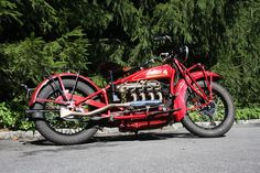 Image Detail for - Classic 1930 Indian Four Motorcycle                                                                                                                                                     More
