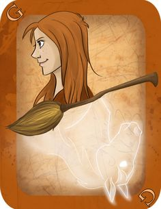 Ginny Weasley, Harry Potter Card Deck | Imaginative Ink