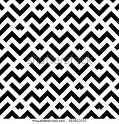 Abstract geometric pattern with stripes, lines. A seamless background. Black and white texture Geometric Patterns, Line Patterns, Geometric Art, Abstract Pattern, Textures Patterns, Pattern Images, Vector Pattern, Pattern Design, Geometric Background