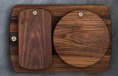 Jacob May Design Large Hudson Cutting Board - Walnut