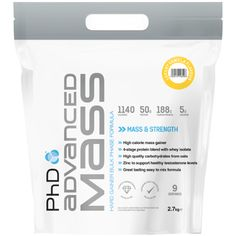 PhD Nutrition Advanced Mass | Weight Gainers - The UK's Number 1 Sports Nutrition Distributor | Shop by Category – The UK's Number 1 Sports Nutrition Distributor | Tropicana Wholesale
