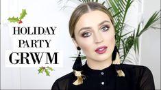 GRWM Holiday Edition | Hair + Makeup Tutorial | #AD | allanaramaa