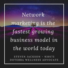 More millionaires were created in the MLM industry then in any other, however it does mean starting a MLM business the right way Doterra Wellness Advocate, Pure Oils, Fast Growing, Business Marketing, How To Become