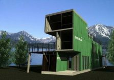Underground_Housing (13) Container Homes For Sale, Storage Container Homes, Building A Container Home, Building A Tiny House, Container House Design, Container Van, Build House, Storage Containers, Container Architecture