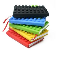 I love these...hope I can find some for my Little guy for back to school :) Lego Notebooks #LegoDuploParty