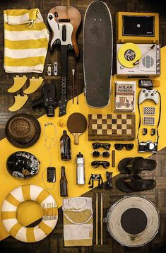 Great color palette and a wide variety of interesting items.  I could look at these all day.