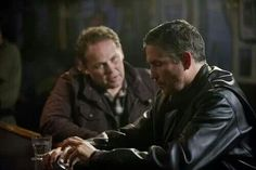 Jim Caviezel and Kevin Chapman S3.11