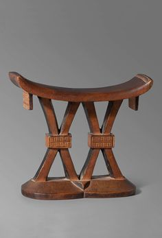Africa | Headrest from the Tsonga/Shona people of South Africa/Zimbabwe | Wood | 19th century