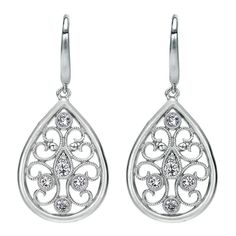 Sterling Silver Madison Drop Earrings