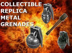 Replica Metal Grenades