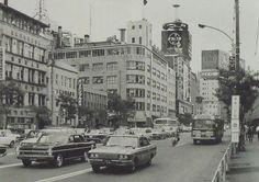 昭和46年 銀座2丁目 「東京の消えた風景」より