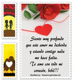 textos de amor para mi whatsapp,palabras originales de amor para mi pareja: http://www.frasesmuybonitas.net/mensajes-de-amor/