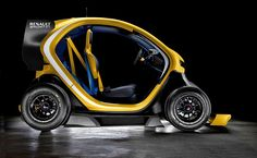 Renault Twizy Sport RS F1 de 2013. Vehiculo electrico.