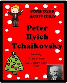 ***$5.00*** Overview: This product is a curriculum integration tool incorporating music, history, math and writing for 2-5th. The lesson is built around students learning some facts about Tchaikovsky, identifying and singing a musical theme with original fun lyrics and writing creative narratives. ... Teacher Helper, Cool Lyrics, Music Classroom, Classroom Ideas, Elementary Music, Upper Elementary, Music Activities, Music Education, Physical Education