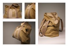 MadRad - Weekend Duffle - Cotton Canvas, Natural Dye - Features laptop sleeve