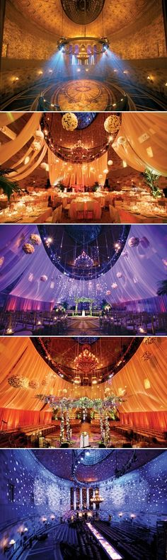 Wedding Lighting @ http://fresno-weddings.blogspot.com/2012/04/wedding-reception-lighting-ideas.html