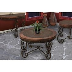 $458 = Artisan Home Furniture Cantabria Cocktail Table