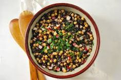Chickpea and Black Rice Salad