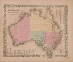 Australia 1885 old antique map plan chart Hobart and the Derwent river