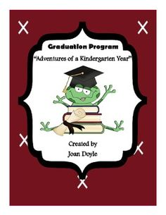 Graduation Program  Rockin Around Kindergarten