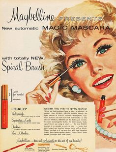 Magic Mascara from Maybelline desde 1958 arrasando nas máscaras