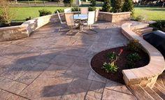 2016 Imprinted Concrete Patio Cost Guide | Installation, Design