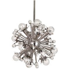 Modern Lighting   Mini Sputnik Chandelier Ceiling Lamp   Jonathan Adler Looks like a star