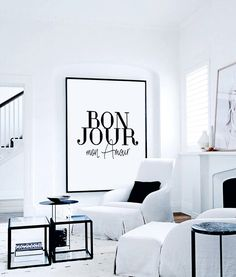 Printable Poster ''Bonjour Mon Amour'' French Decor, Printable Gift, Fashion Print, Fashion Poster, Bedroom Wall Decor, Wall Art Quotes by CHICxBOUTIQ on Etsy https://www.etsy.com/listing/294123491/printable-poster-bonjour-mon-amour