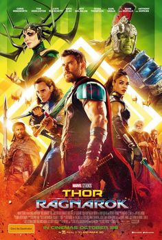 Thor: Ragnarok on DVD March 2018 starring Chris Hemsworth, Tom Hiddleston, Jaimie Alexander, Tessa Thompson. In Marvel Studios' Thor: Ragnarok, Thor is imprisoned on the other side of the universe without his mighty hammer and finds himself in a r Thor Ragnarok Full Movie, Thor Ragnarok 2017, Streaming Movies, Hd Movies, Movies Online, Movie Film, Hd Streaming, 2017 Movies, Movie Posters