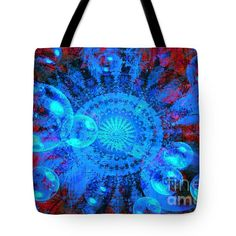 Carousel Tote Bag by Fine Art By Andrew David