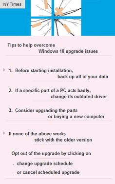 Simple steps to overcome #Windows10 upgrade issues #tech #technology #startup #vc  http://arzillion.com/S/42NdEl