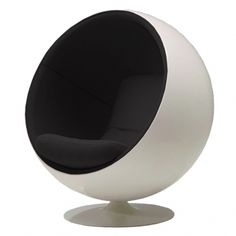 This is something I have dreamt of since I was a child. Ballchair, design Eero Aarnio