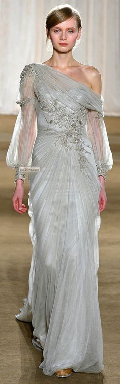Marchesa gown | Fall Winter 2013 | New York Fashion Week