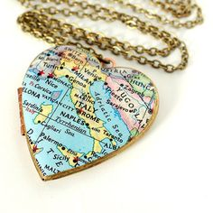 Italy Locket Necklace, $30, now featured on Fab
