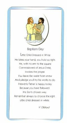 Amazon.com: LDS Mini Baptism Day Bookmark - Great for Scriptures & Primary: Office Products