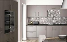 Stone Grey Range Satin Matt Grey Stone, Kitchen Cabinets, Satin, Range, House, Home Decor, Shopping, Cookers, Decoration Home
