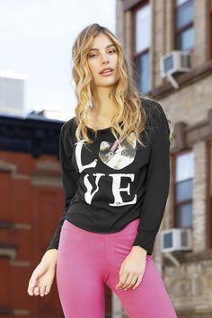 VK Spring 2014, Graphic Sweatshirt, Sweatshirts, Sweaters, Love, Fashion, Black, Winter, Spring