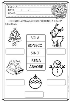 December, Early Education, Christmas, Figurative