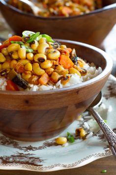 French Delicacies Essentials - Some Uncomplicated Strategies For Newbies Vegan Hoppin' John Recipe - Smoky, Healthy, Satisfying Meatless Version Of A Southern Classic For The New Year, Rosh Hashanah On Kosher Recipes, Cooking Recipes, Cooking Tips, Vegetarian Recipes, Healthy Recipes, Vegan Vegetarian, Vegan Soul Food Recipes, Pescatarian Recipes, One Pot Dinners