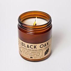 Good + Well Supply Co. Candle - Black Oak