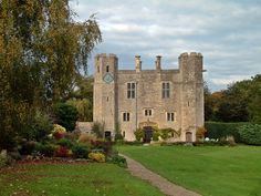 Boarstall Tower is a 14th-century moated gatehouse located in Boarstall, Buckinghamshire, England