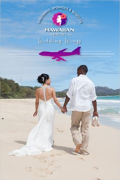 Discounted Rates From Hawaiian Airlines With Wedding Wings