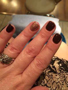 Love my fall nails