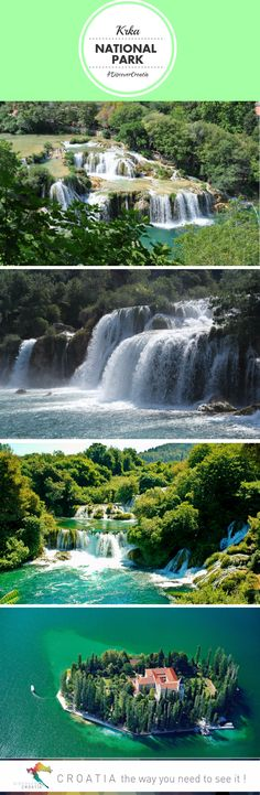 Best holiday in Croatia: Krka Waterfalls National Park | Discover Croatia #TRAVEL #CROATIA