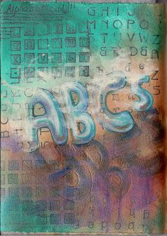 Journal52 Prompt 34-Alphabetical by molossus, who says Life Imitates Doodles, via Flickr