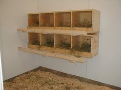 how to build chicken nesting boxes   Galaxie_Man's Chicken Coop - BackYard Chickens Community
