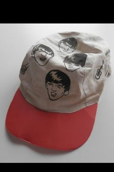 """Nems official Beatles  """"Sto-Rose"""" jockey hat from 1963 England - one of a kind. Most people don't even know this existed"""