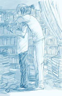 No. 6 ~~ Book lovers :: Nezumi and Shion